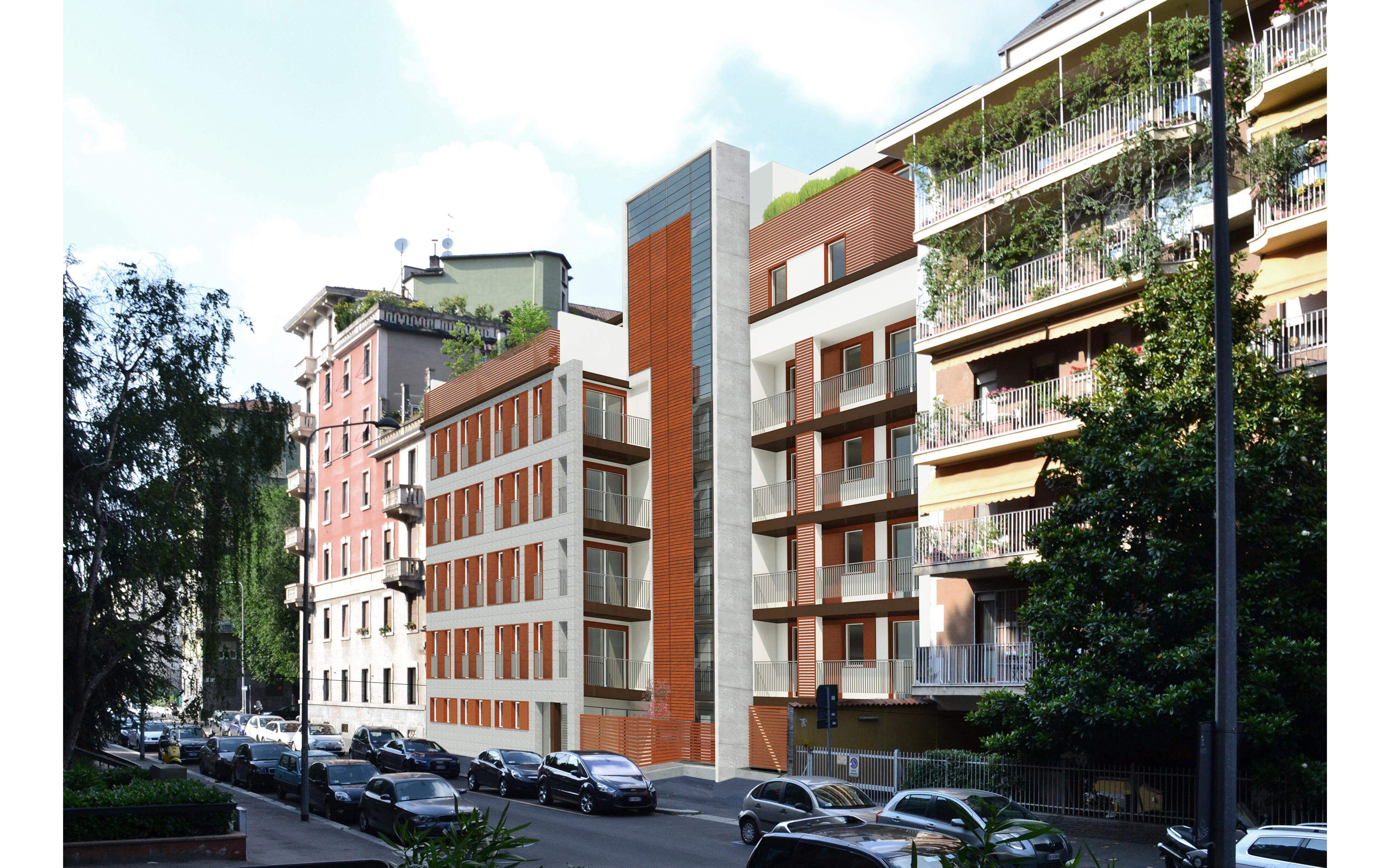 Nuovo edificio residenziale Via M. Loria 52 – Milano, 2013