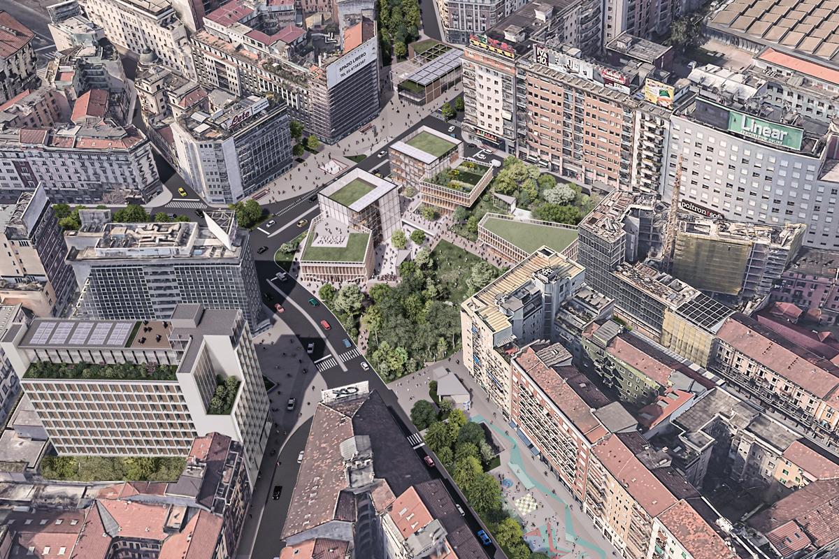 Una Piazza in Loreto – C40, Reinventing Cities